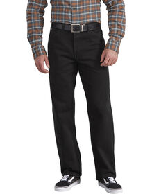 Relaxed Straight Fit 5-Pocket Denim Jean - RINSED OVERDYED BLACK (RBB)