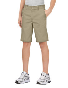 Boys' Flex Classic Fit Ultimate Khaki Short, 8-20 - DESERT SAND (DS)