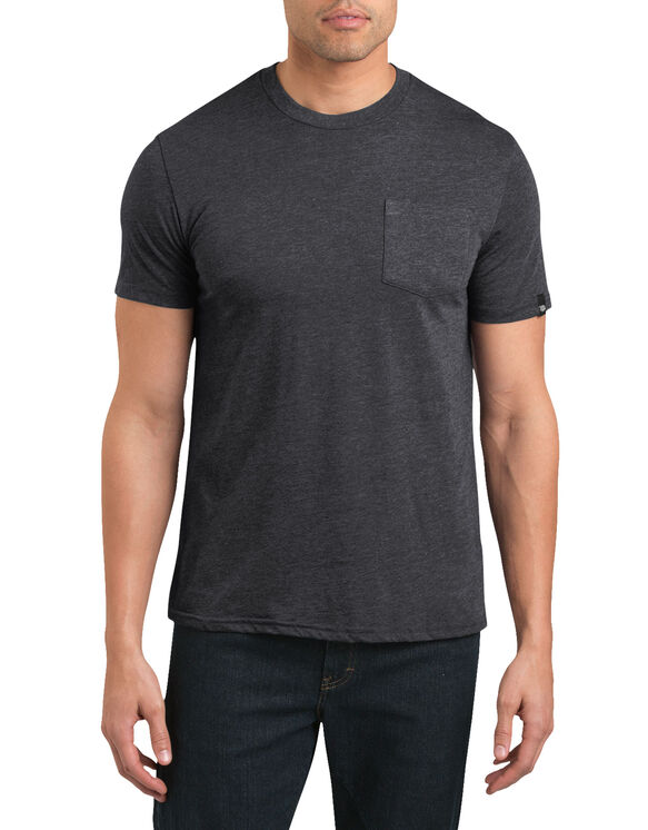 Dickies '67 Short Sleeve Pocket T-Shirt - DARK GRAY HEATHER (DGH)
