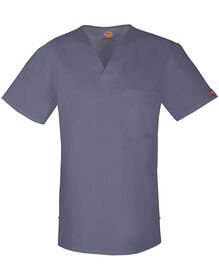 Men's Evolution NXT V-Neck Scrub Top - PEWTER-LICENSEE (PEW)