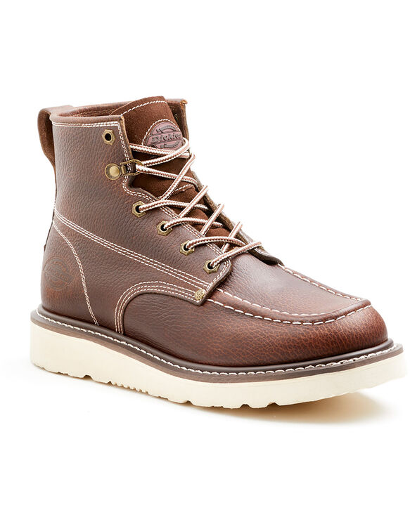Men's Trader Work Boots - BURGUNDY (BY)
