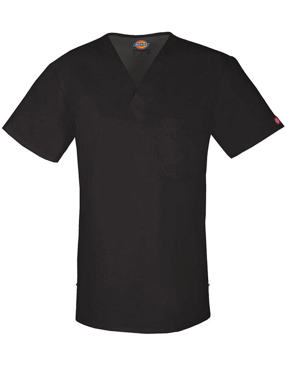 Men's Evolution NXT V-Neck Scrub Top - BLACK (BLK)