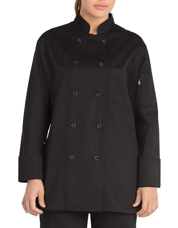 Women's Classic Chef Coat - BLACK-LICENSEE (BLK)