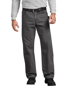 Relaxed Fit Straight Leg Sanded Duck Carpenter Jean - RINSED SLATE (RSL)