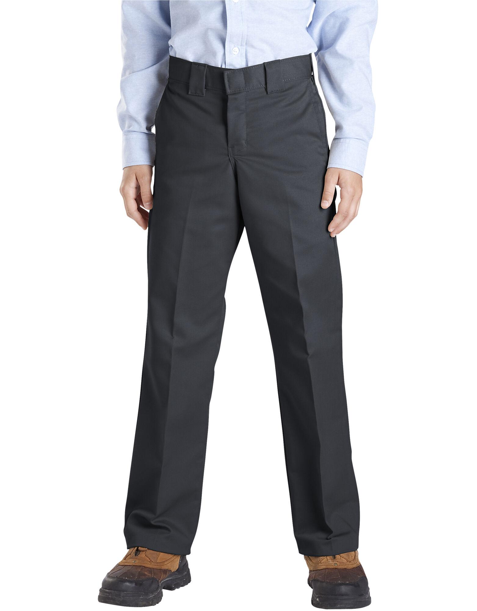 Boys Pleated Dress Pants