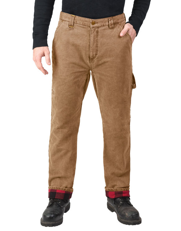 Walls® Vintage Lined Duck Pant - WASHED PECAN (WPC9)