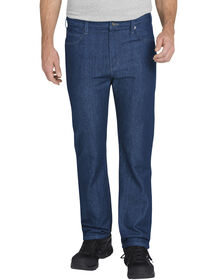 Tough Max™ Regular Fit Straight Leg 5-Pocket Denim Jean - STONEWASHED INDIGO BLUE (SNB)