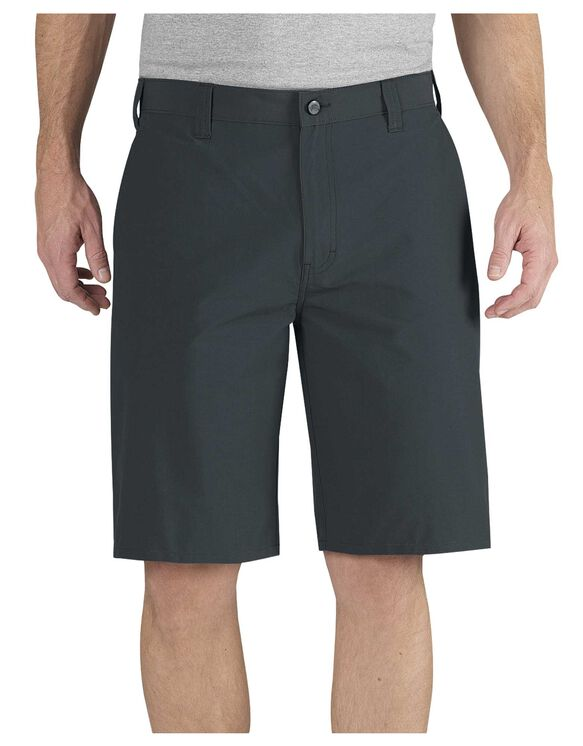"Performance 11"" Relaxed Fit Flat Front Short - SLATE (SL)"
