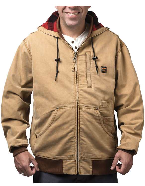 Walls® Vintage Duck Hooded Jacket - WASHED PECAN (WPC9)