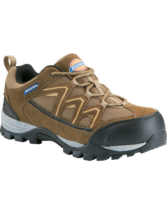 Men's Solo Soft Toe Work Shoe - BROWN (FBR)