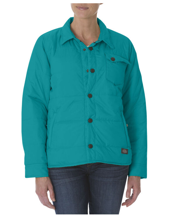 Women's Performance Quilted Jacket - TAHITI BLUE (AU)