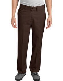Dickies '67 Regular Fit Straight Leg Industrial Work Pant - CHOCOLATE BROWN (CB)