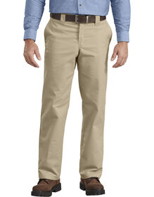 Flex Regular Fit Straight Leg Twill Multi-Use Pocket Work Pant - DESERT SAND (DS)