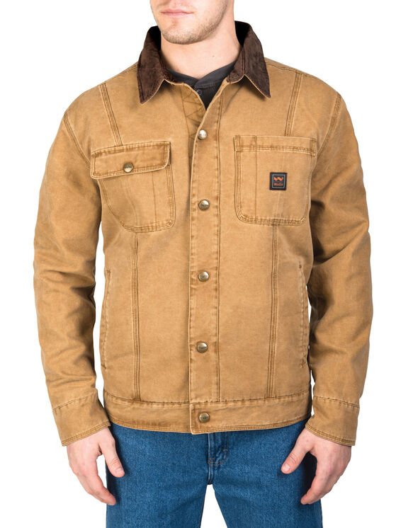 Walls® Ranch Amarillo Duck Cotton Twill Jacket - WASHED PECAN (WPC9)