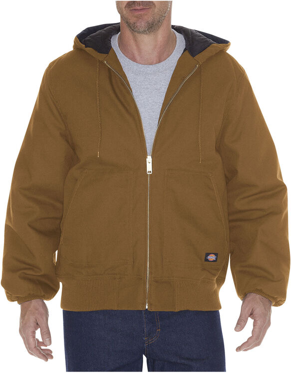 Sanded Duck Hooded Jacket - BROWN DUCK (BD)