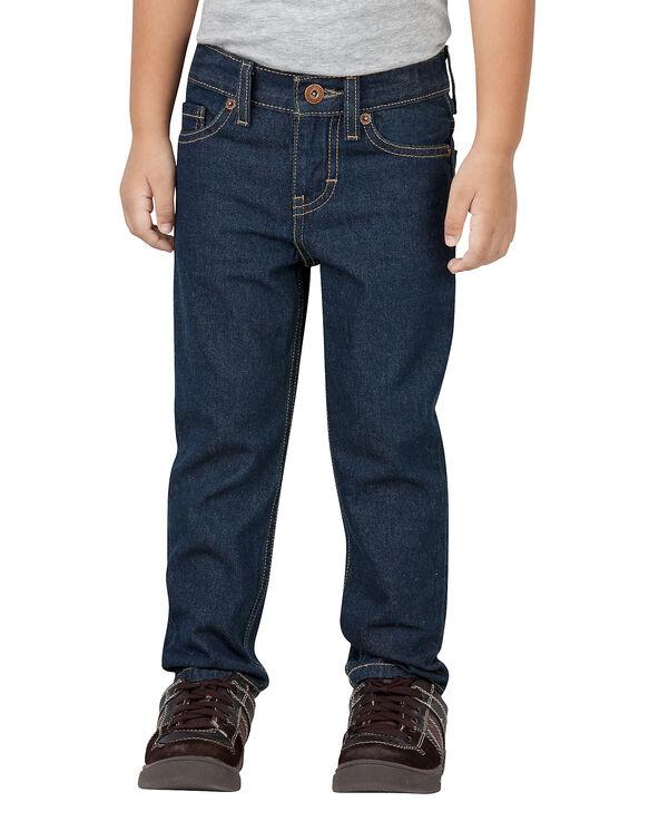 Toddler Slim Fit Skinny Leg FlexWaist® Denim Jean - MED STONEWASH W/ TINT (MNT)