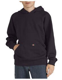 Boys' Fleece Pullover Hoodie, 8-20 - BLACK (BK)