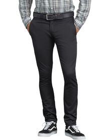 Flex Skinny Straight Fit Work Pant - BLACK (BK)