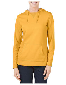Women's Plaited Jersey Pullover Hoodie - MARIGOLD (AD)