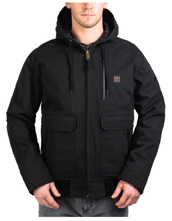 Walls® Blizzard-Pruf® Lancaster Hooded Coat - MIDNIGHT BLACK (MK9)