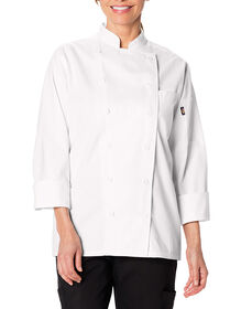 Women's Executive Chef Coat - WHITE-LICENSEE (WHT)