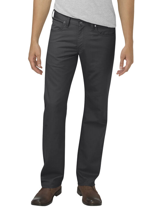 Dickies X-Series Flex Regular Fit Straight Leg 5-Pocket Pant - STONEWASHED BLACK (SBK)