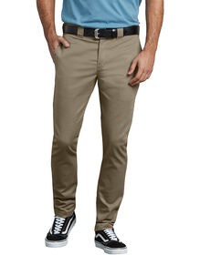 Flex Slim Skinny Fit Twill Work Pant - BRITISH TAN (BT)