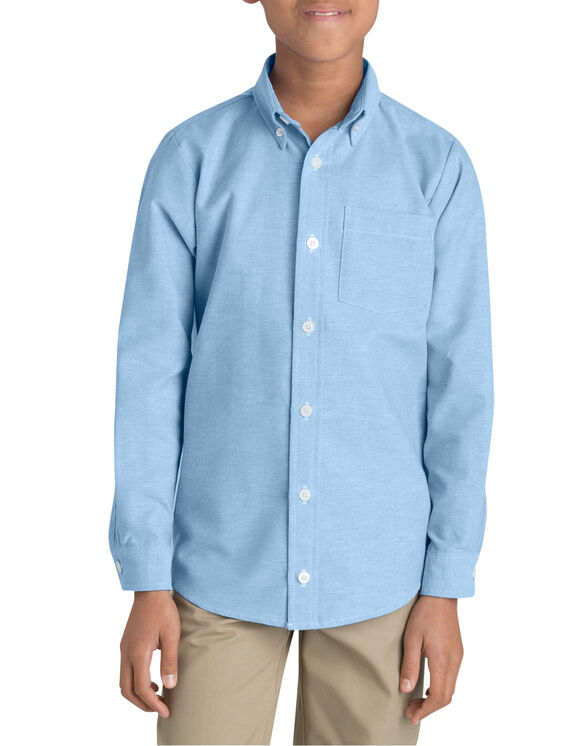 Boys' Long Sleeve Oxford Shirt, 6-20
