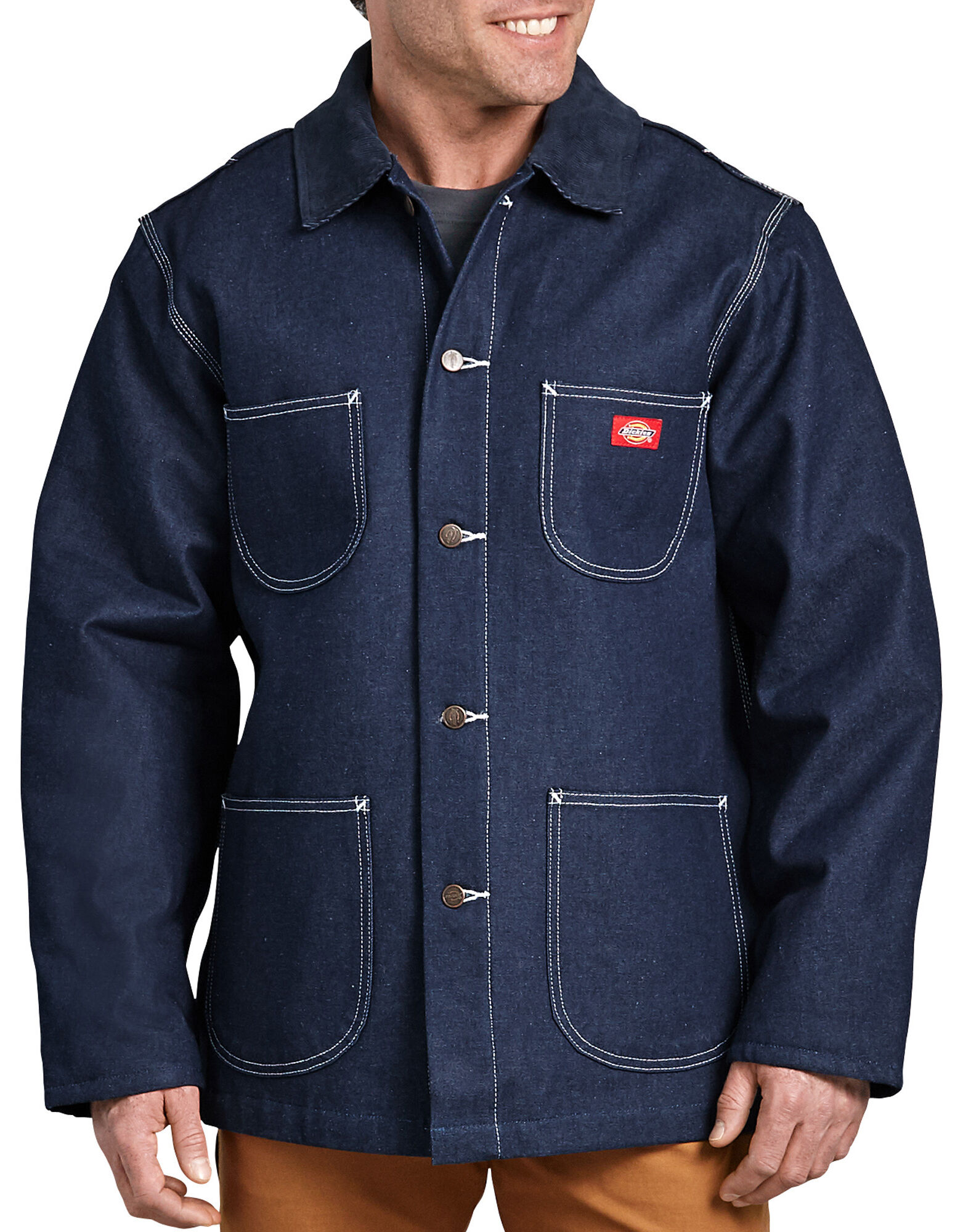 Denim Blanket Lined Chore Coat for Men | Dickies