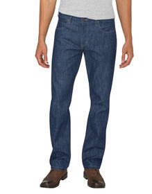Dickies X-Series Button Fly  Regular Fit Straight Leg 5-Pocket Denim Jean - HERITAGE MEDIUM INDIGO (HMI)
