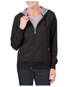 Women's Plaited Jersey Full Zip Hoodie