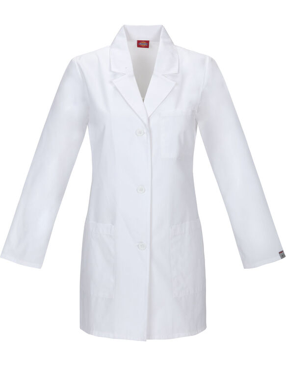 "Women's EDS Signature 32"" Lab Coat - DICKIES WHITE (DWH)"