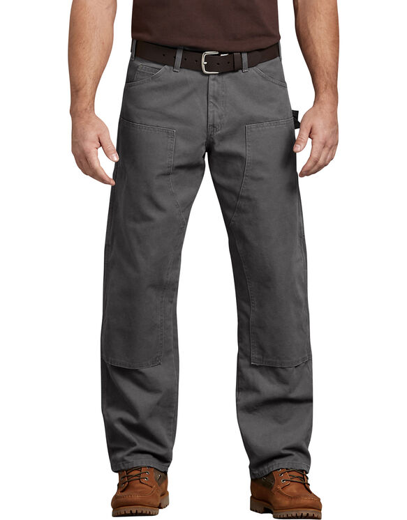 Relaxed Fit Straight Leg Double Front Duck Pant - RINSED SLATE (RSL)