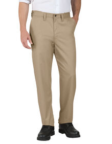 Industrial Relaxed Fit Straight Leg Comfort Waist Pant - KHAKI (KH)