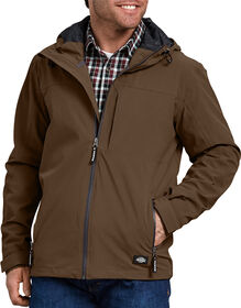 Performance Waterproof Breathable Jacket with Hood - TIMBER BROWN (TB)