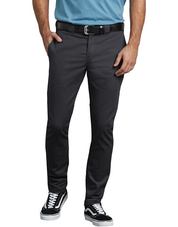 Flex Slim Skinny Fit Twill Work Pant - BLACK (BK)