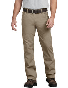 FLEX Regular Fit Straight Leg Tough Max™ Ripstop Carpenter Pant - RINSED DESERT SAND (RDS)
