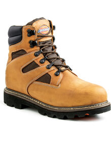 Grinder Steel Toe Waterproof Work Boot - BROWN (FBR)