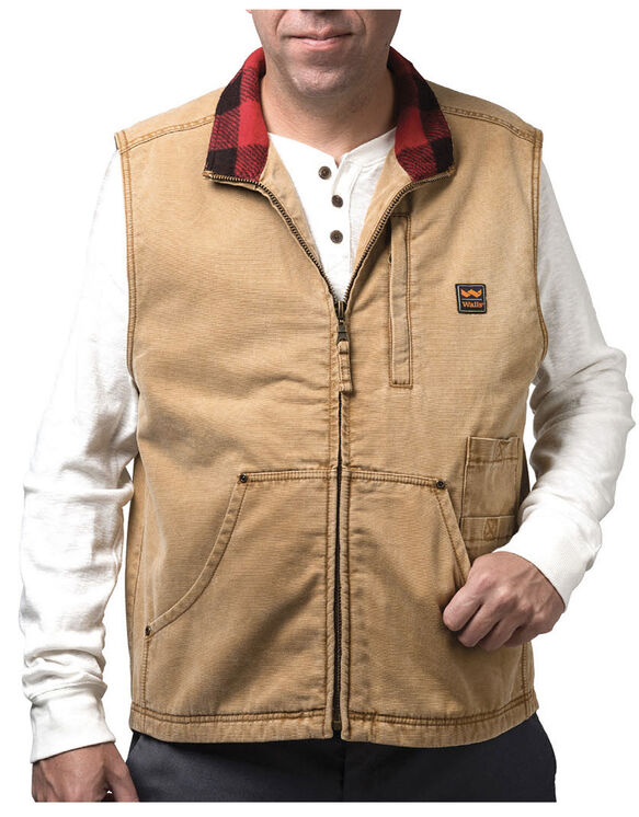 Walls® Vintage Pecos Duck Vest - WASHED PECAN (WPC9)