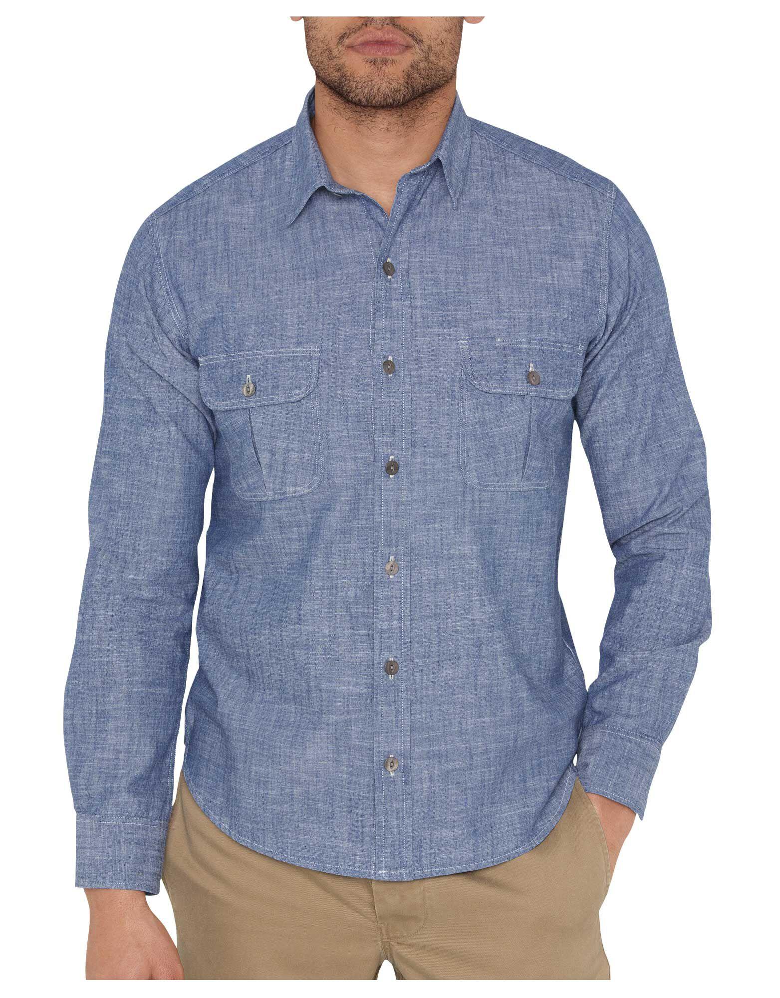 Dickies 1922 Chambray Shirt | Mens Shirts