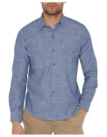 Dickies 1922 Chambray Shirt - RINSED BLUE CHAMBRAY (RBLC)