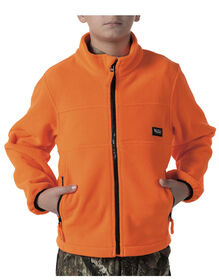 Walls® Youth Polar Fleece Full-Zip Jacket - BLAZE ORANGE (BZ9)
