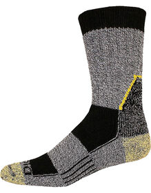 Dickies DuPont™ KEVLAR®-Reinforced Steel-Toe Crew Socks - BLACK (BK)