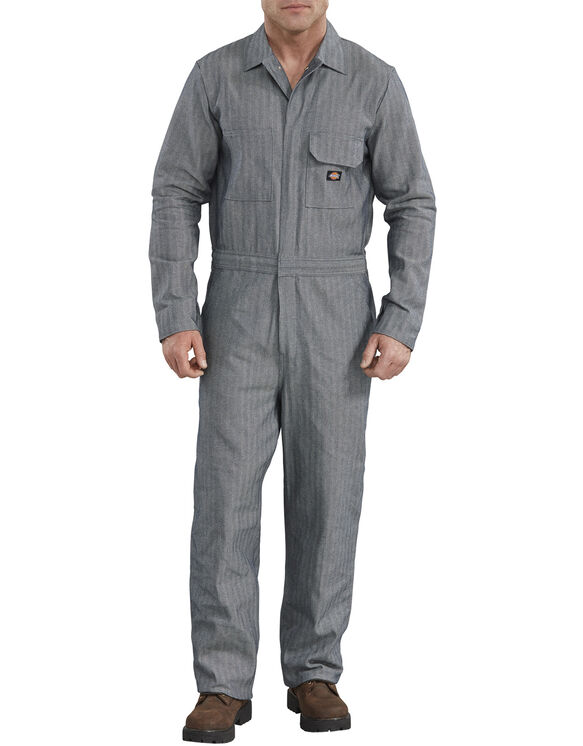 Cotton Coverall - Fisher Stripe