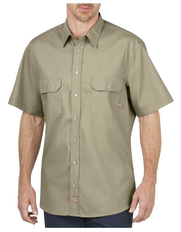Industrial Short Sleeve Premium Mobility Shirt - DESERT SAND (DS)