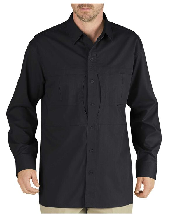 Tactical Long Sleeve Shirt - BLACK (BK)