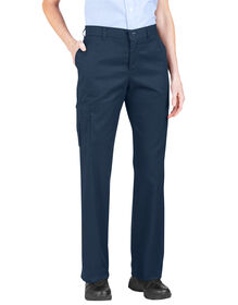 Women's Premium Relaxed Straight Cargo Pant - DARK NAVY (DN)