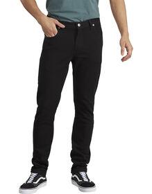Dickies X-Series Flex Slim Fit Skinny Leg 5-Pocket Denim Jean - HERITAGE BLACK DENIM (HBL)