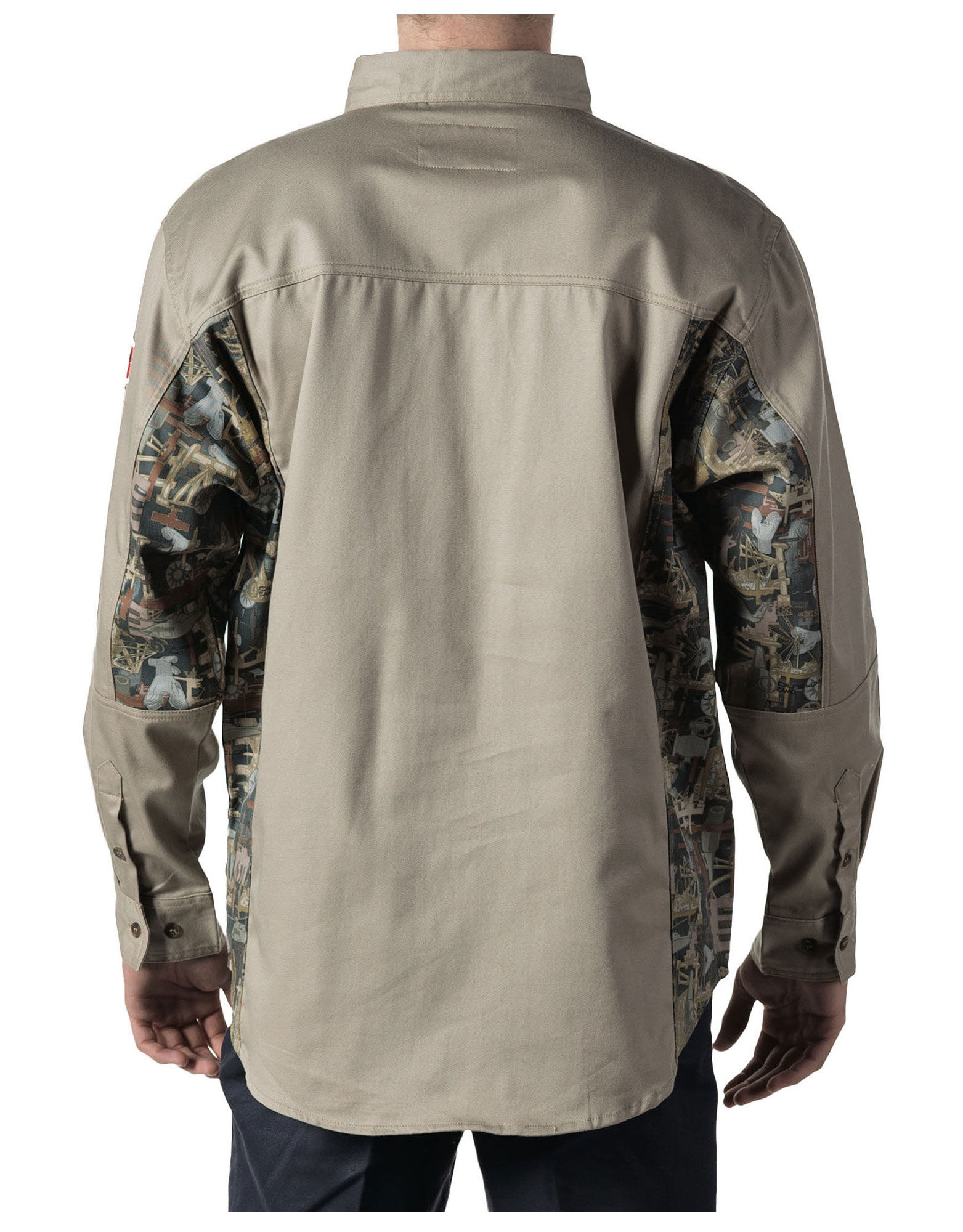 Walls fr oilfield camo work shirt walls for Flame resistant work shirts