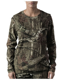 Walls® Women's Hunting Long Sleeve Tee - BRK UP INFIN (MI9)